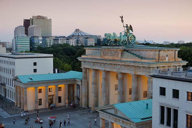 la puerta de brandenburgo historia de alemania