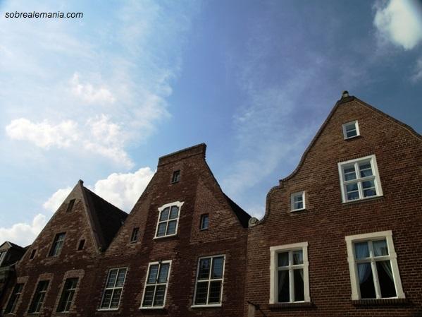 Paseando por el barrio holandés de Postdam