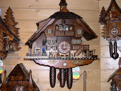 Reloj de cuco en Alemania