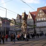 La estatua de Rolando en Bremen