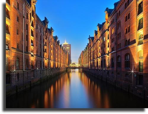 Speicherstadt en Hamburgo