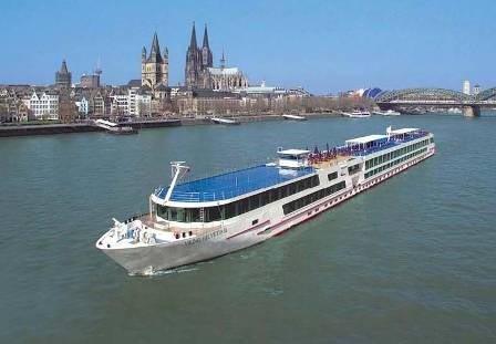 En barco por el Rhin