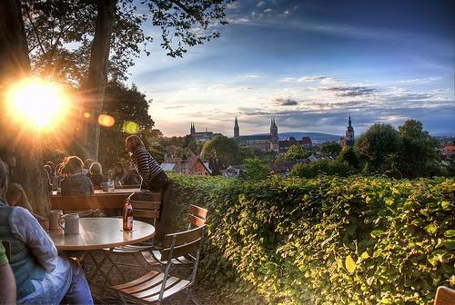 Terraza en Bamberg