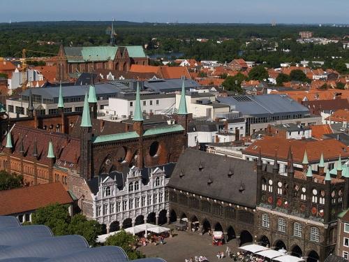 Centro historico de Lubeck