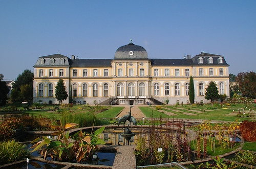 Jardines botanicos en Bonn