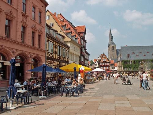 Compras en Quedlinburg