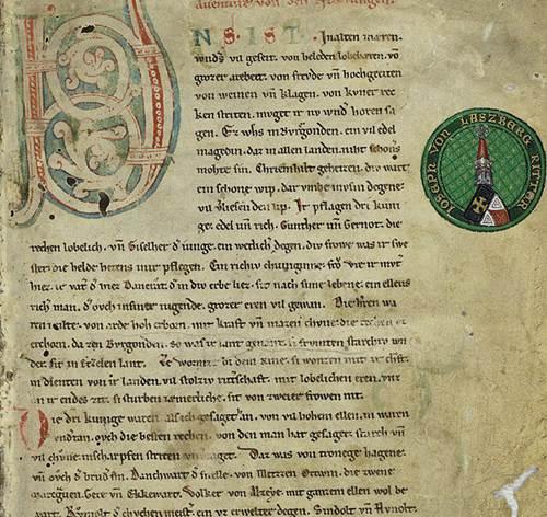 640px-Nibelungenlied_manuscript-c_f1r