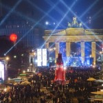 Maravillosa fiesta de año nuevo en Berlín