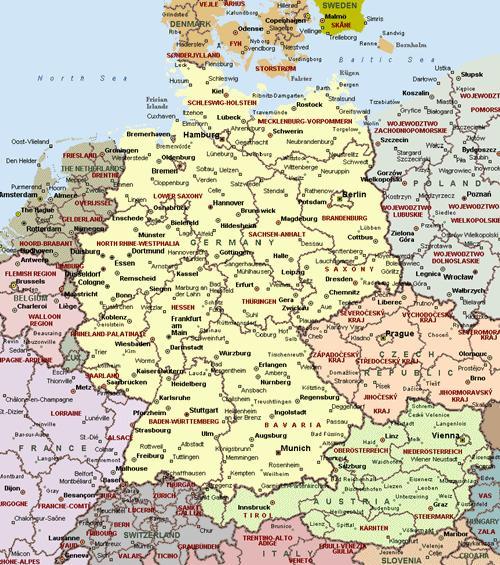 Alemania-Ciudades