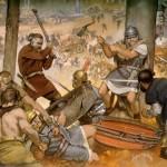La Batalla de Teutoburgo, Roma y los germanos