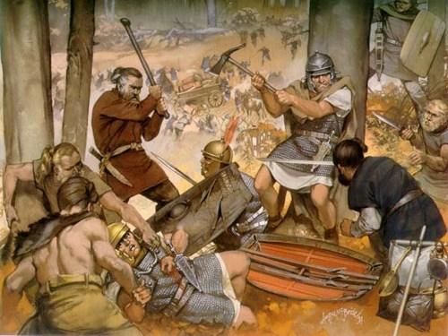 Batalla de Teutoburgo