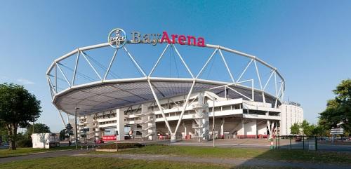 BayArena en Leverkusen