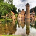 El Castillo de Mespelbrunn, cerca de Frankfurt