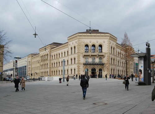 Europa Galerie en Saarbrucken