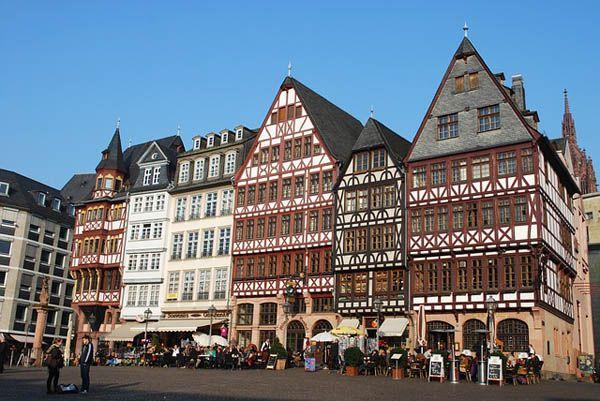 Frankfurt centro de ciudad