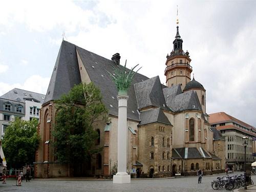 La Iglesia de San Nicolás en Leipzig
