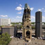 La iglesia Kaiser Wilhelm Gedächtniskirche en Berlín