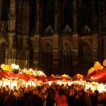Mercados navideños en el centro de Colonia