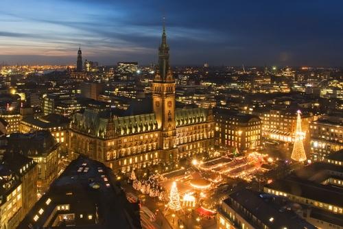 Mercado Navideño de Hamburgo