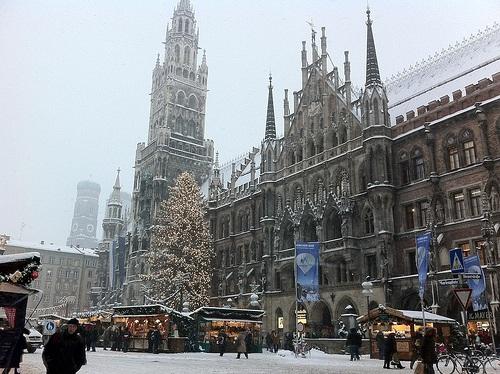 Mercado Navideño de Marienplatz en Munich