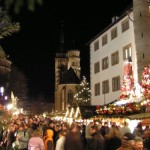 De paseo por el Mercado Navideño de Stuttgart