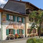 Mittenwald y sus casas decoradas con frescos