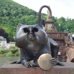 El mono de Heidelberg, símbolo pintoresco