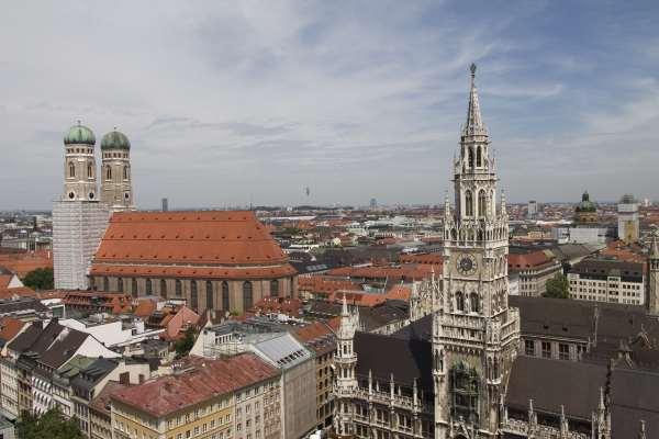 Campanarios en Munich