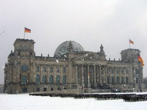 Nieve en Berlin