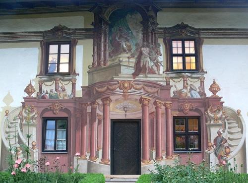 tromp l'oeil en Oberammergau