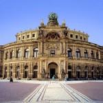 La Ópera Semper, joya de los teatros en Dresde