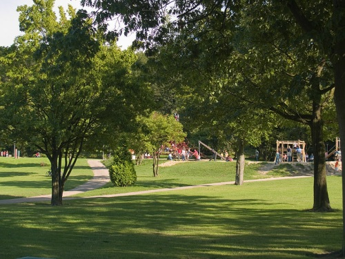 Parque Gysenberg en Herne
