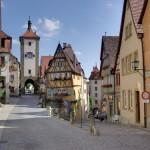 Visitando el Plonlein en Rothenburg