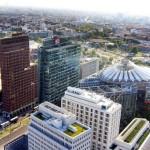 La moderna Potsdamer Platz de Berlín