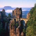 El Puente de Bastei, mirador del Valle del Elba