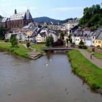 Saarburg, entre agua y montañas