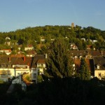 Turmberg, panorámicas de Karlsruhe