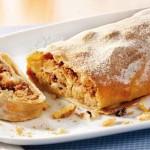 Applestrudel, delicioso pastel de manzana