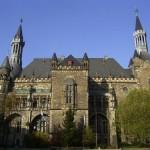 Ayuntamiento de Aquisgrán, con los reyes alemanes