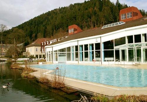 La estacion termal del Valle de Teinach