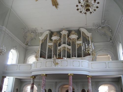 Organo en la Basilica de St Johann