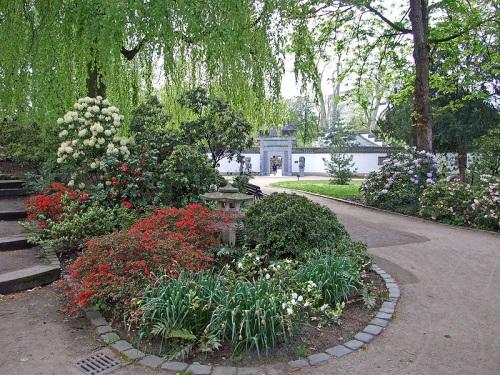 Jardin Chino en el parque Bethmann