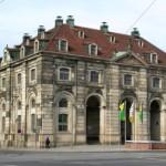 Blockhaus y Hauptstrasse en Dresde
