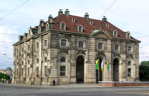 Blockhaus en Dresde