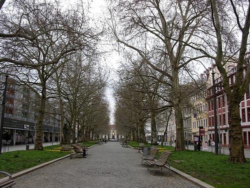 Hauptstrasse en Dresde