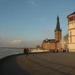 Burgplatz, sitio de encuentro en Düsseldorf