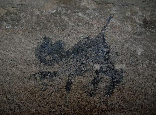 Gato negro en los Calabozos de Nuremberg