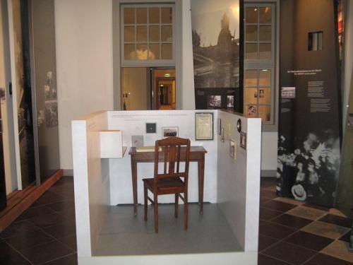 Interior de la Casa Willy Brandt