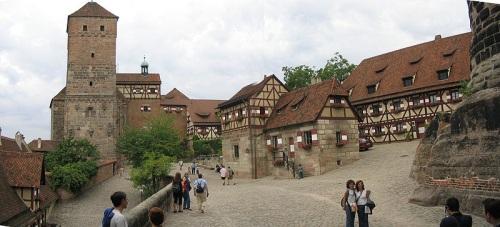 Interior del Castillo Nuremberg