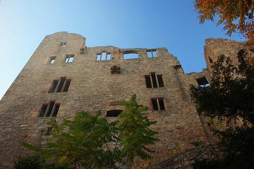 Alte Schloss en Baden Baden